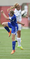 Prep girls soccer: Oregon's Kelsey Jahn and coach Julie Grutzner score top All-Area honors
