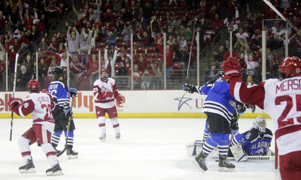 WCHA: Thin Line Of Offense From 'D'