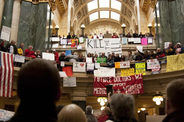 Public sector unions have taken a thrashing in recent years, UW-Madison experts explain why