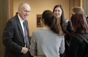 In UW campus visit, chancellor finalist Kim Wilcox says tuition increases 'out of control' at many universities