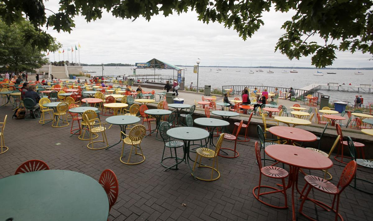 Photos catch a glimpse of memorial union terrace before for Terrace uw madison