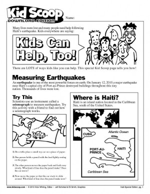 English worksheet: The Earth Shakes! | earthquakes | Pinterest ...