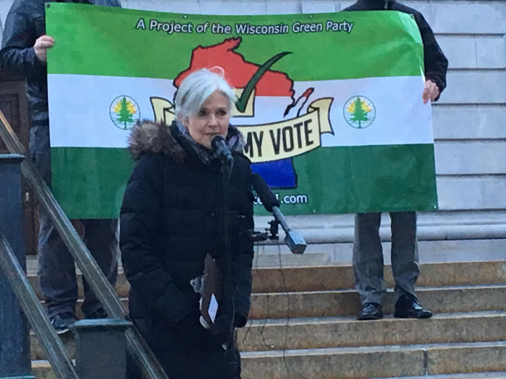 Jill Stein launches Wisconsin recount group