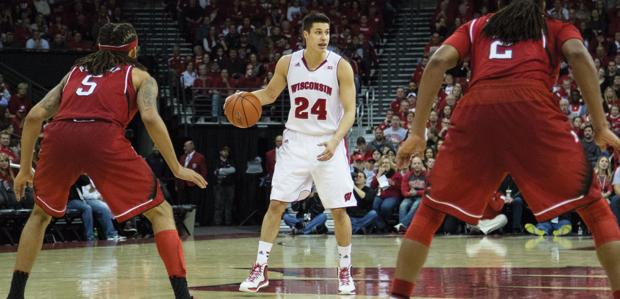 Men's Basketball: Badgers escape in OT at Michigan