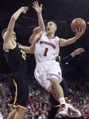 Badgers men's basketball: Ben Brust heats up as No. 4 UW routs UW-Milwaukee