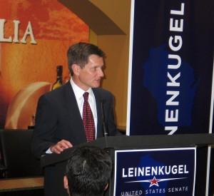 Leinenkugel drops out of U.S. Senate race