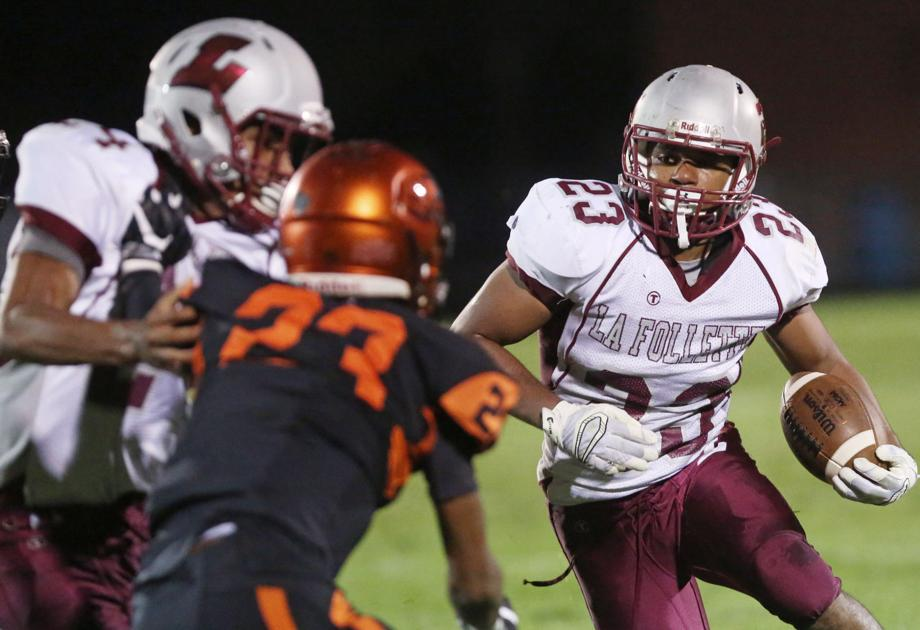 Prep football: Madison La Follette's Elias Sobah makes college choice