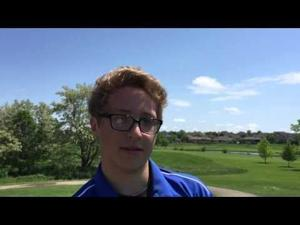 Video: West's Aaron Siordia wins playoff for final individual berth from WIAA D1 Middleton regional