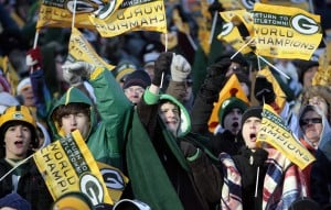 In Green Bay, fans show happy support for hometown champs
