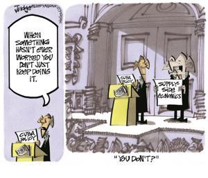 Editorial cartoon  4/23/15