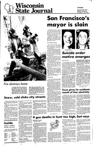 Pages from history Nov. 28, 1978