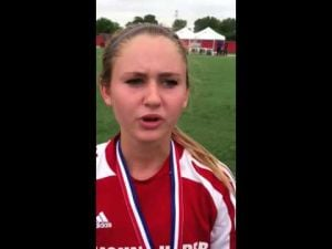 Video: Mount Horeb senior Cassie Handrick on state runner-up finish