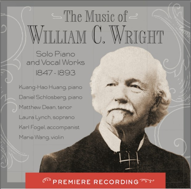 """Cover image of """"The Music of William C. Wright"""""""
