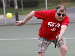 Photos: Learning to play Pickleball