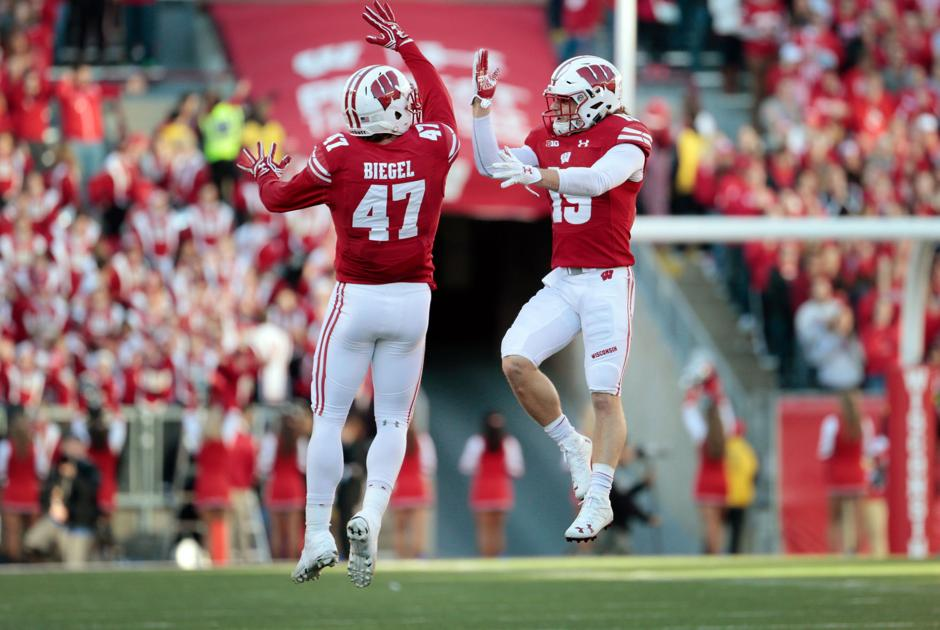biggest college football player wisconsin football odds