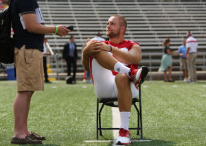 Photos: Badgers football media day