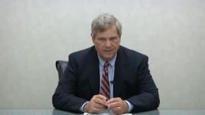 Ag secretary Tom Vilsack touts funds for UW study