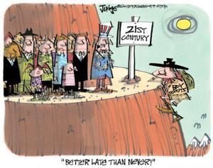 Editorial cartoon (7/31/2015)