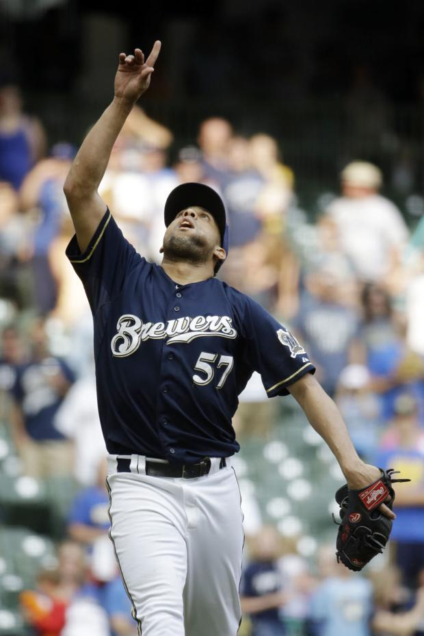 Brewers: Wily Peralta bounces back in victory against Reds