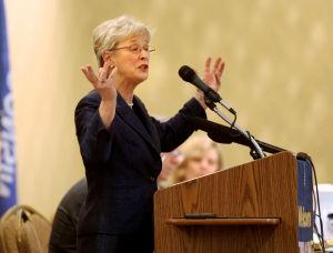 Photos: Supreme Court candidate debate
