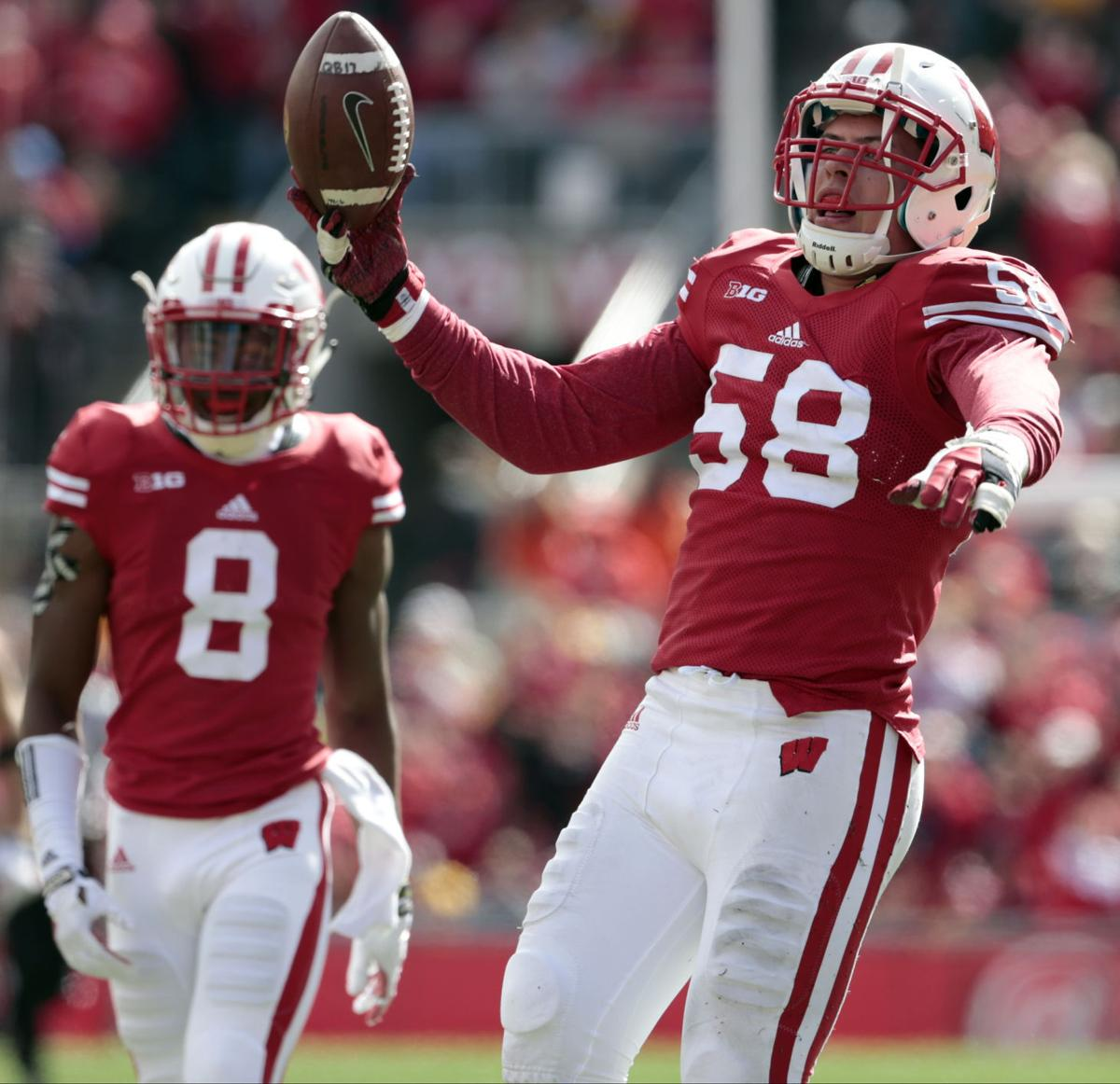 badgers football joe schobert s career continues on upward badgers football joe schobert s career continues on upward trajectory entering nfl draft