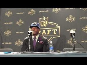 Video: Melvin Gordon meets the media after being chosen 15th by San Diego in NFL Draft