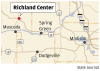 Richland Center map