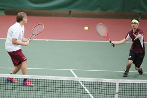 Photos: Varsity Conference tennis meet