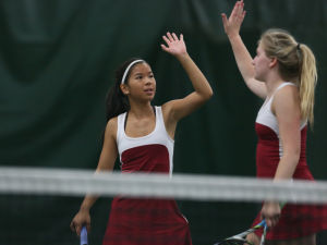 Photos: Big Eight Conference girls tennis