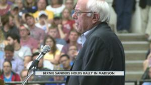 Bernie Sanders in Madison 7-1-2015