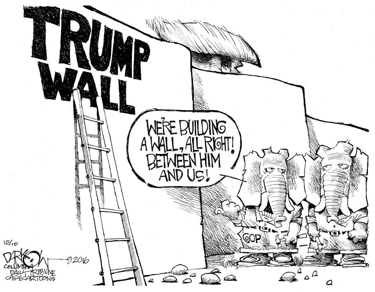 republicans are building a wall