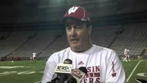 Paul Chryst Post Practice 04/15/2015