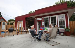 Photos: Take a look at homes and gardens in the tiny houses village