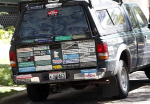 Photos: Got something to say? Put it on your bumper