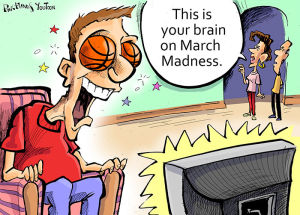 'This is your brain on March Madness' -- Darryl McCants wins this week's You Toon caption contest again
