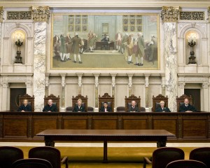 At state Supreme Court, conflict among the justices