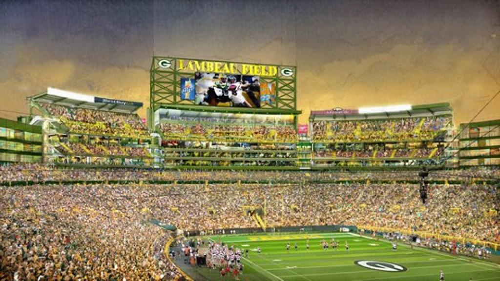 Lambeau Field Expansion Completion