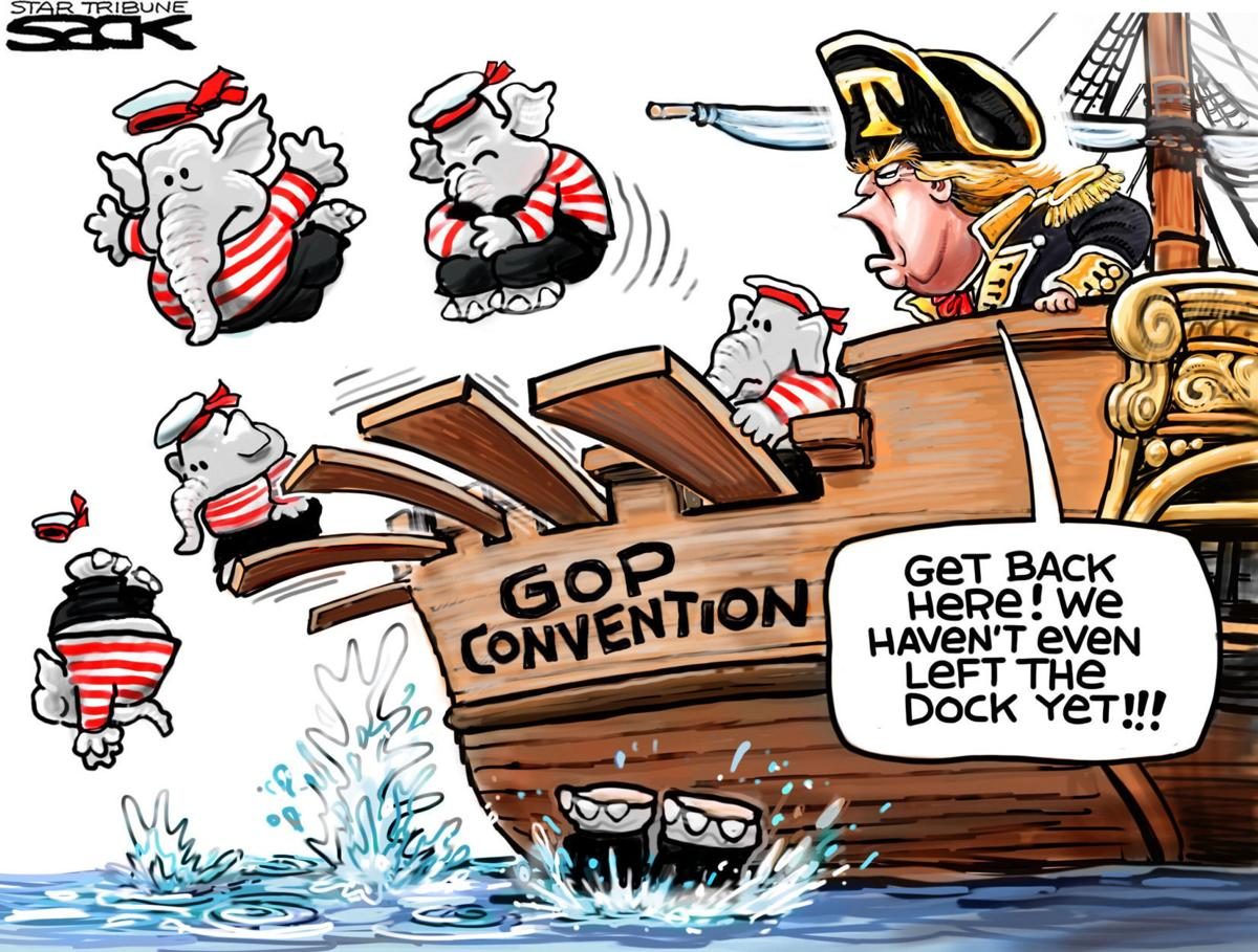 Republicans Jump Ship Before Trump Leaves The Dock In