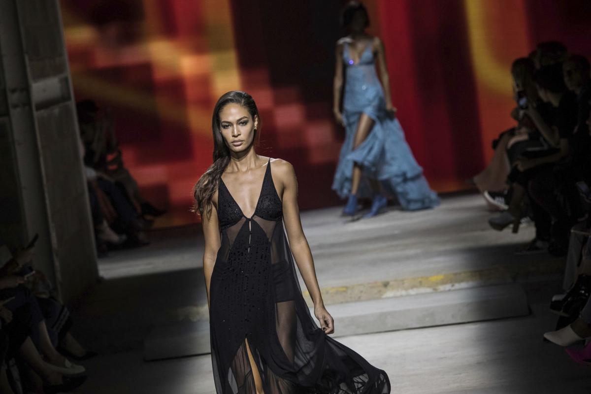 Models at london fashion week 24