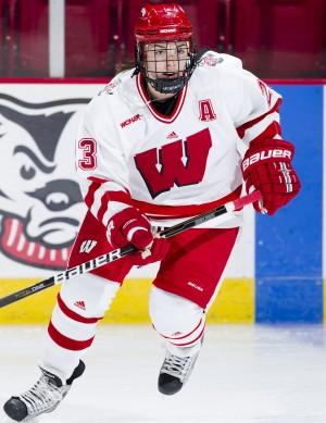 UW women's hockey: Knight is modest, but her talent isn't