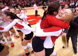 Photos: UW Women win Big Ten Volleyball Title