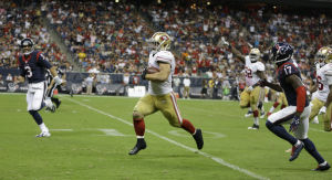 NFL: Ex-Badgers LB Chris Borland hopes pick-six leads to roster spot with 49ers