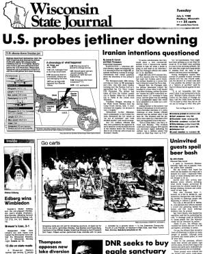 Pages from history July 5, 1988