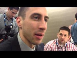 Video: Badgers guard Josh Gasser 'not really interested in' watching UW-Kentucky ending