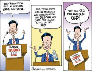 Editorial cartoon 4/20/15