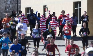 Photos: A brisk run through campus at 2014 Crazylegs Classic