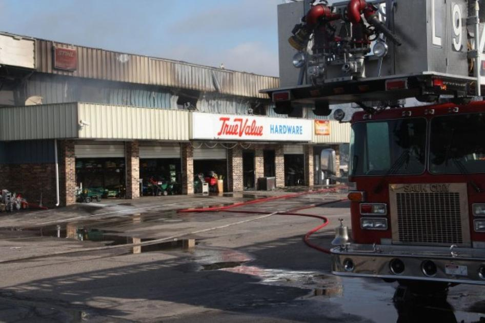 No Injuries In Sauk City Hardware Store Fire Local News