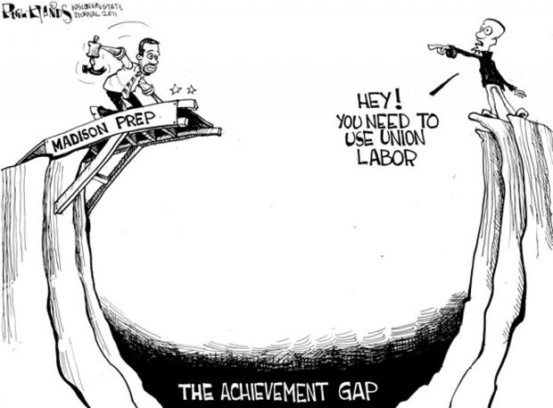 the achievement gap Despite years of targeted programs, san francisco district schools have failed to  close an achievement gap in which black students lag behind.