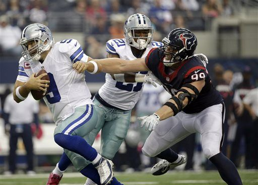 NFL: Former Badger J.J. Watt doing what he can to sack league's bad-boy image