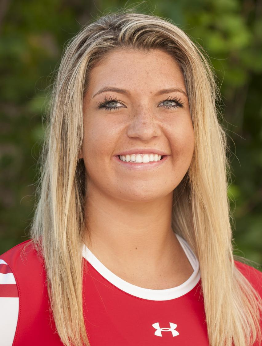 Badgers Volleyball Molly Haggerty To Face Nebraska